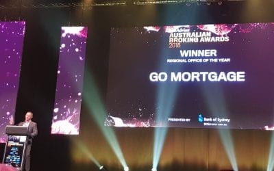 Go Mortgage wins at the 2018 Australian Broking Awards